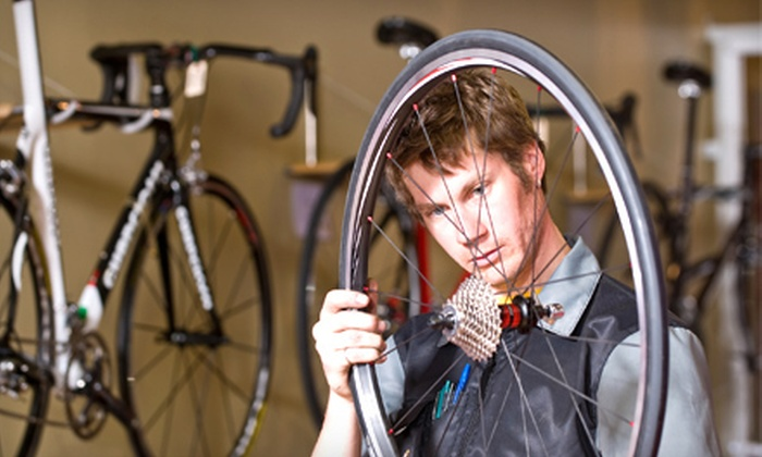Cycle Center - Multiple Locations: Bicycle Tune-Up, Master BG Fit Session, or $25 for $50 Worth of Gear and Accessories at Cycle Center