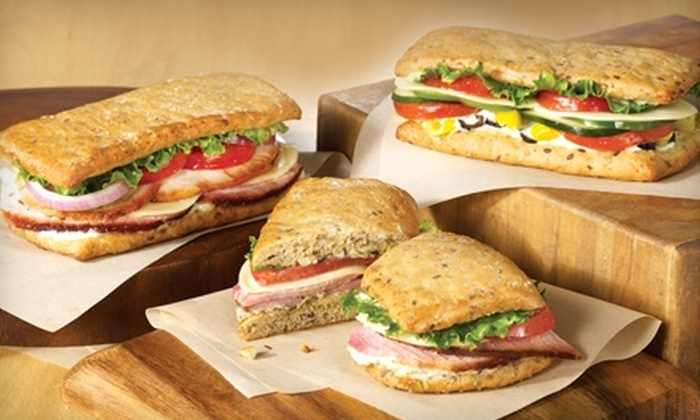 The HoneyBaked Ham Company - Multiple Locations: $4 for a Classic or Flatbread Sandwich, Side Item, and Cookie at The HoneyBaked Ham Company (Up to $8.97 Value)
