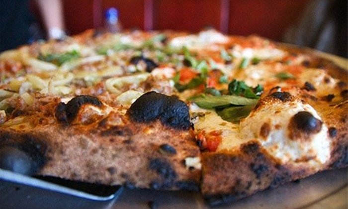 Salvatore of SOHO or SOHO Pizza Factory - Multiple Locations: $10 for $20 Worth of Pizza, Pasta & More at Salvatore of SOHO or SOHO Pizza Factory