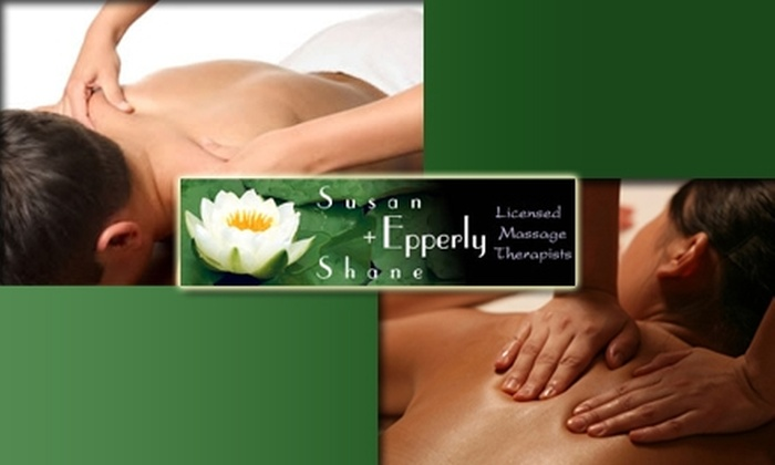 Susan & Shane Epperly, LMTs - Bouldin: $35 for One-Hour Massage from Susan or Shane Epperly ($80 Value)