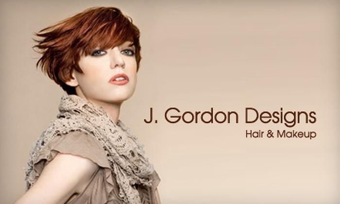 J. Gordon Designs - Lincoln Park: $48 for Kérastase Revitalizing Masque Treatment and Haircut at J. Gordon Designs (Up to $140 Value)