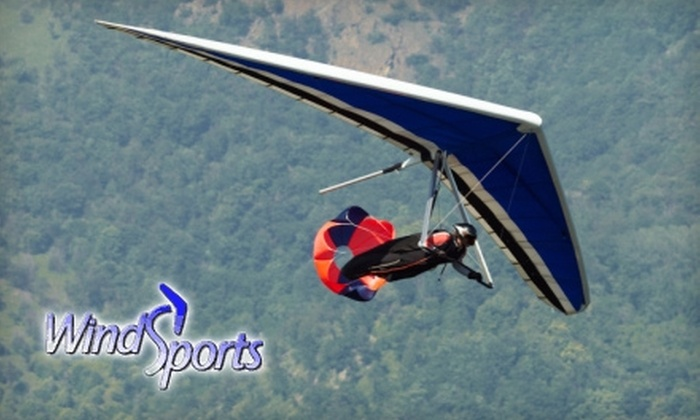 Windsports Soaring Center - Los Angeles: $75 for an Introductory Hang-Gliding Lesson for Two at Windsports Soaring Center in Playa Del Rey ($150 Value)