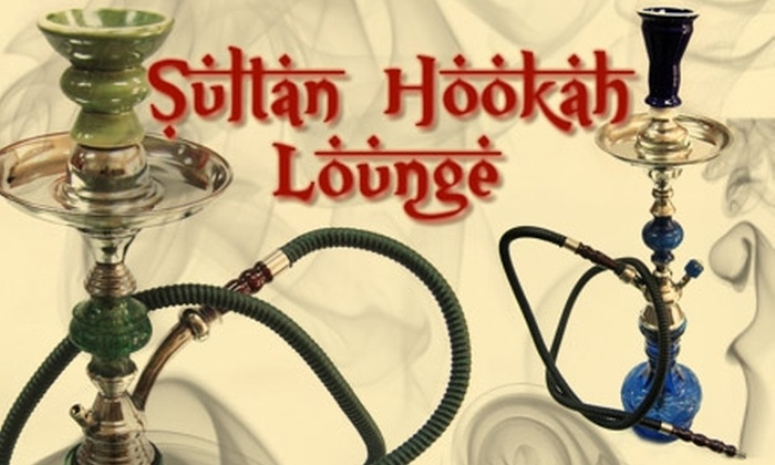 The Sultan Hookah Lounge - St. Johns: $10 Hookah Rental for up to Four People at the Sultan Hookah Lounge (Up to $25 Value)