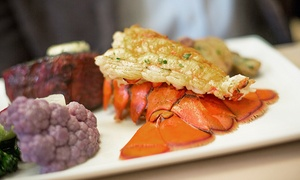 Sterling's Seafood Steakhouse: $25 for $40 Worth of Gourmet Seafood and Steakhouse Cuisine for Two at Sterling's Seafood Steakhouse