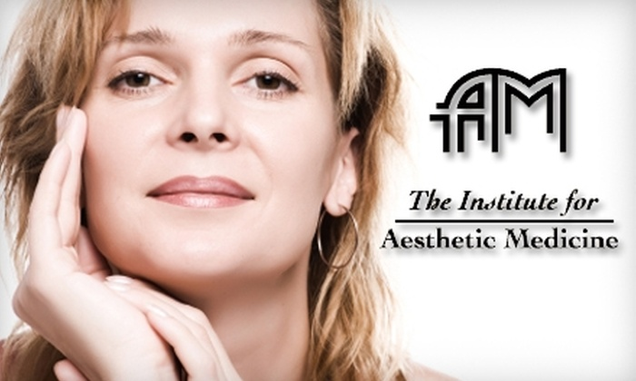 The Institute for Aesthetic Medicine - San Diego: $149 for Med-Spa Services at The Institute for Aesthetic Medicine. Choose from Three Options.