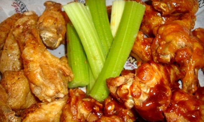 WingTown Bar and Grill - Glendale Heights: $10 for $20 Worth of Wings, Burgers, and Sides at Wingtown Bar and Grill in Glendale Heights