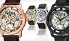 Up to 91% Off Stuhrling Skeleton Watches