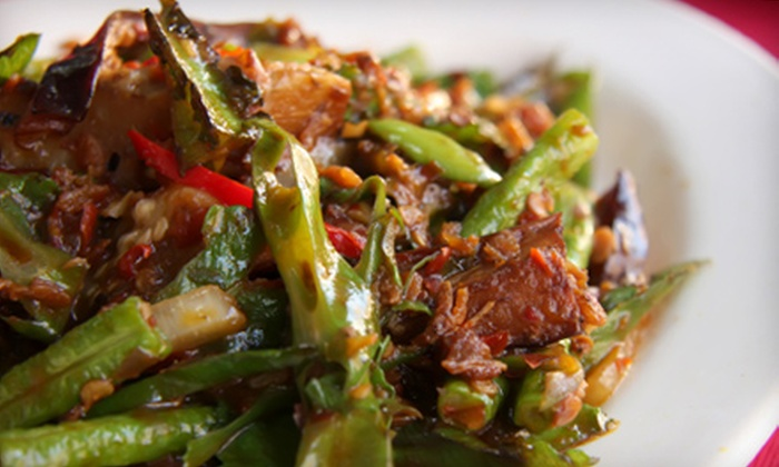 The Mongolie Grill - Beltline: $15 for $30 Worth of Create-Your-Own Stir-Fry at The Mongolie Grill