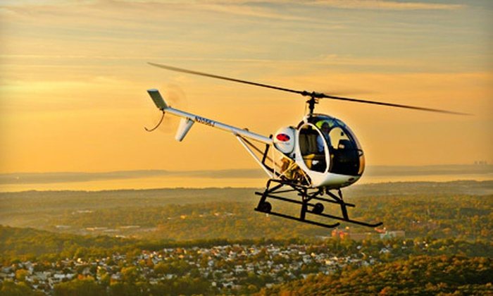 Wings Air - West Harrison: $139 for a 30-Minute Private Helicopter Flight Experience from Wings Air in White Plains ($250 Value)