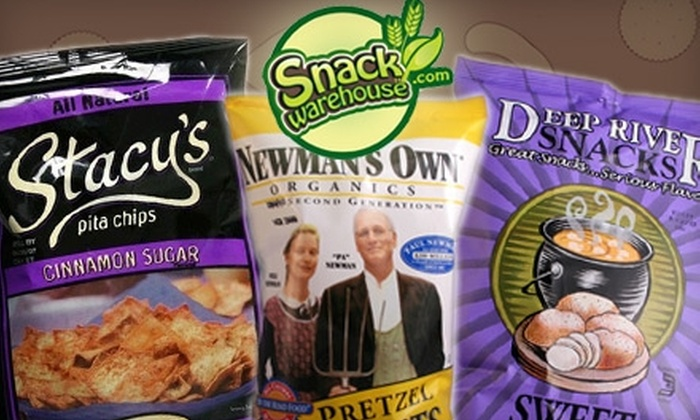 Snackwarehouse.com: $15 for $30 Worth of Organic, Natural, and Other Nutritious Snacks from Snackwarehouse.com