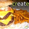 Half Off Burgers and More at Create