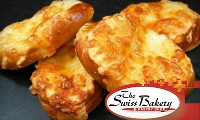 The Swiss Bakery - Multiple Locations: $10 for $20 of Breads, Cookies, Ice Cream, and More at The Swiss Bakery