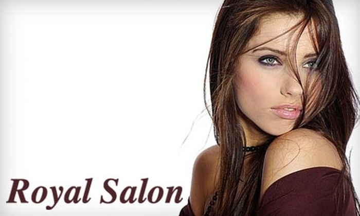 Royal Salon - Fountain Valley: $20 for $40 Worth of Organic Salon Services at Royal Salon