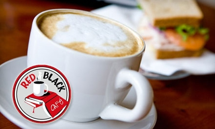 Red & Black Café - Middletown: $7 for $15 Worth of Fare at the Red & Black Café