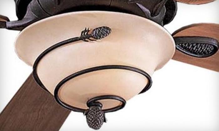 Fan Man Lighting - Burnsville: $25 for $70 Worth of Fans, Lighting Fixtures, and More at Fan Man Lighting in Burnsville