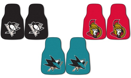 NHL Carpet Car Mats (2-Pack)