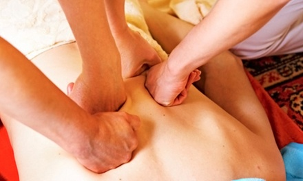 4 Hands Massage and Optional Organic Facial at Kits Spa & Healing Center (Up to 56% Off)