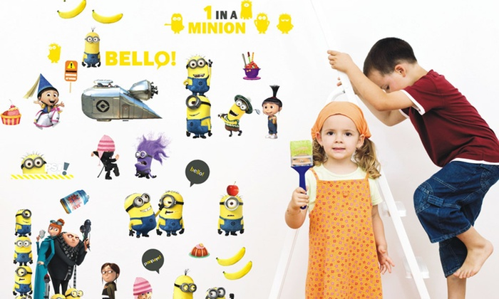 Despicable Me Wall Decals: Despicable Me Wall Decals. Free Returns.