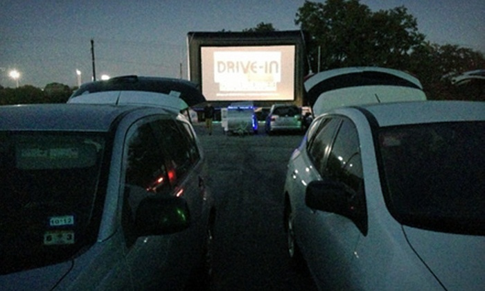 Blue Starlite Mini Urban Drive-In - RMMA: Outdoor Movie and Popcorn for Two or Four at Blue Starlite Mini Urban Drive-In (Half Off)