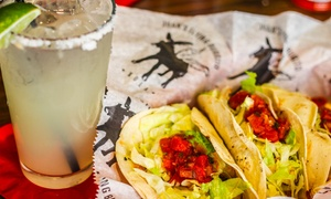 Juan's Flying Burrito: Mexican Food for Lunch or Dinner with Drinks at Juan's Flying Burrito (40% Off)