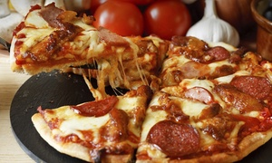 Gelsosomo's Pizzeria: Italian Cuisine at Gelsosomo's Pizzeria – Crown Point (Up to 45% Off). Three Options Available.
