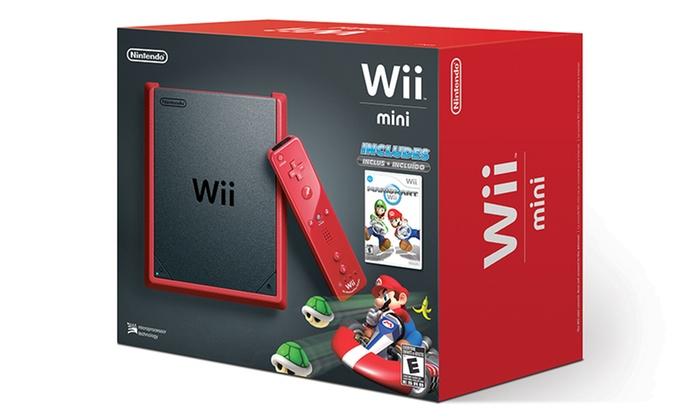 Nintendo Wii Mini Console with Mario Kart Wii: Nintendo Wii Mini Console with Mario Kart Wii