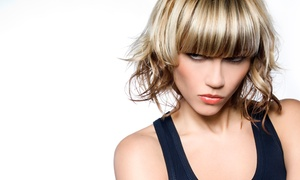 Phoenix Salon - Cherry HIll: Haircut with Option for Highlights or Keratin Treatment at Phoenix Salon - Cherry HIll (Up to 57% Off)