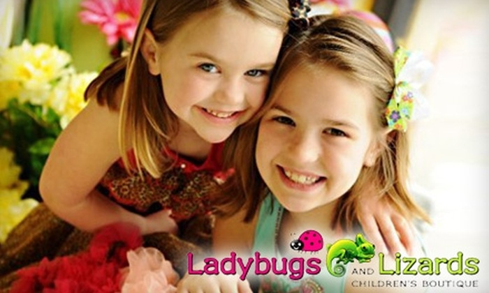 Ladybugs and Lizards Children's Boutique - Edmond: $40 for $100 Worth of Children's Clothing, Shoes, and Accessories at Ladybugs and Lizards Children's Boutique