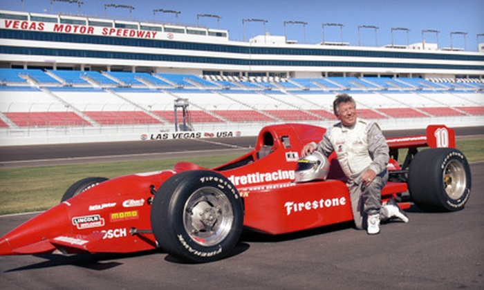 Mario Andretti Racing Experience - Fort Worth: Three-Lap or Three-Hour Racing Experience from Mario Andretti Racing Experience in Fort Worth (Up to 61% Off)