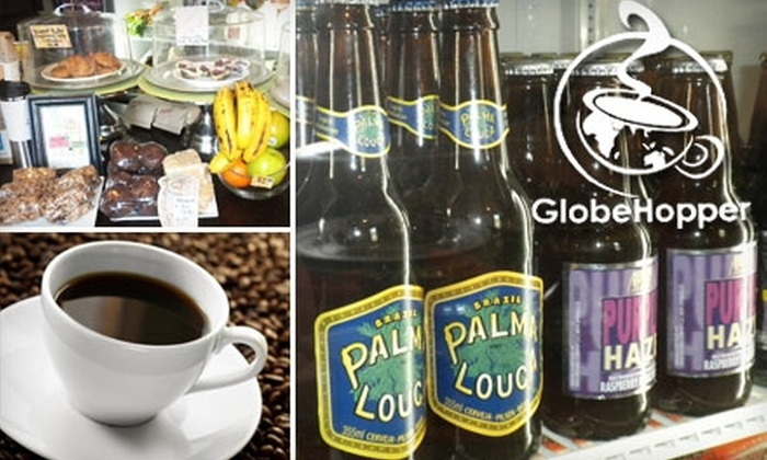 GlobeHopper Coffeehouse & Lounge - Shockoe Bottom: $4 for $8 Worth of Coffee, Libations, and Fare at GlobeHopper Coffeehouse & Lounge