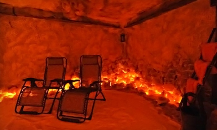 Salt Cave - Park Shore: $22 for a 45-Minute Salt-Therapy Session at Salt Cave ($45 Value)