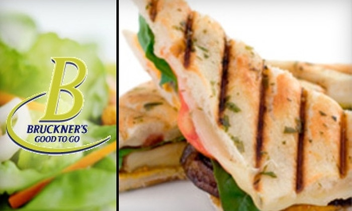 Bruckner's Good To Go - Greenwich: $10 for $20 Worth of All-Natural & Organic Fare at Bruckner's Good to Go in Greenwich