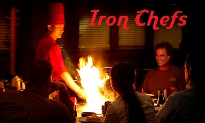 Iron Chefs - The Emporium: $10 for $20 Worth of Sushi and Hibachi at Iron Chefs in Mesquite