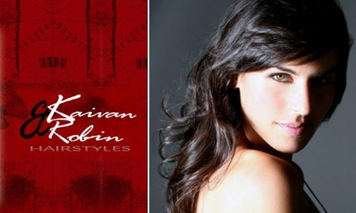 Kaivan & Robin Hairstyles - Farmers Branch: $20 Haircut and Styling at Kaivan & Robin Hairstyles ($45 Value)