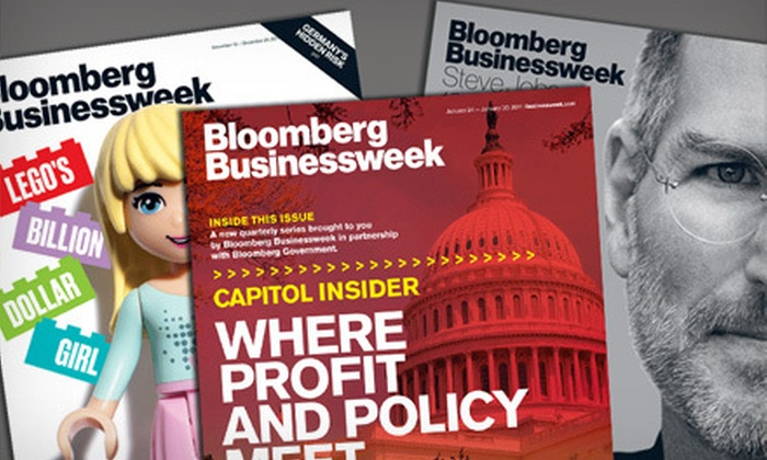 """Bloomberg Businessweek"" - Georgetown: $19 for 50 Issues of ""Bloomberg Businessweek"" ($40 Value)"