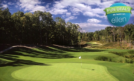 18 Holes of Golf With a Power Cart Tues. - Thurs. (a $100 value) - The Club at 12 Oaks in Holly Springs