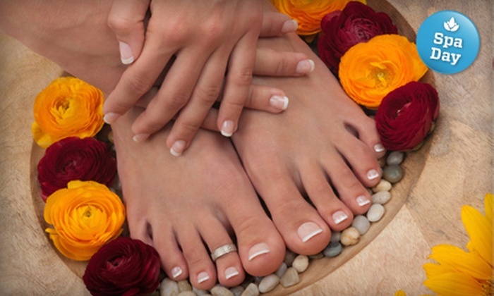Jonathan Neil Salon & Spa - Downtown Halifax: One or Three Express Mani-Pedis at Jonathan Neil Salon & Spa
