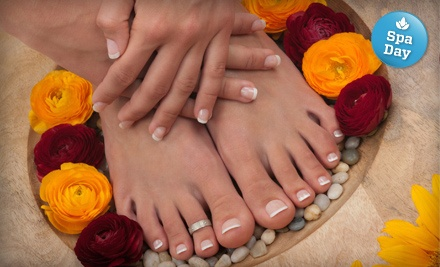 Express Mani-Pedi (a $45 value) - Jonathan Neil Salon & Spa in Halifax