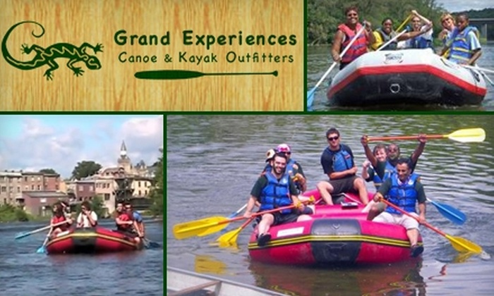 Grand Experiences - Toronto (GTA): $21 for a Three- to Four-Hour Guided Rafting Trip from Grand Experiences ($42 Value)