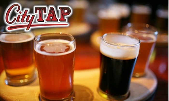 City Tap - Bowling Green: $5 for $10 Worth of Burgers, Fries, and More at City Tap