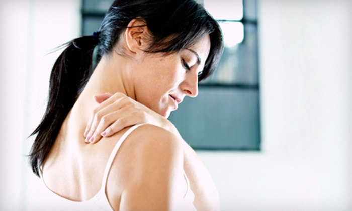 Vitality Chiropractic Center - Belmont: $39 for an Adjustment Package with Exam and 30-Minute Massage at Vitality Chiropractic Center in Belmont ($290 Value)