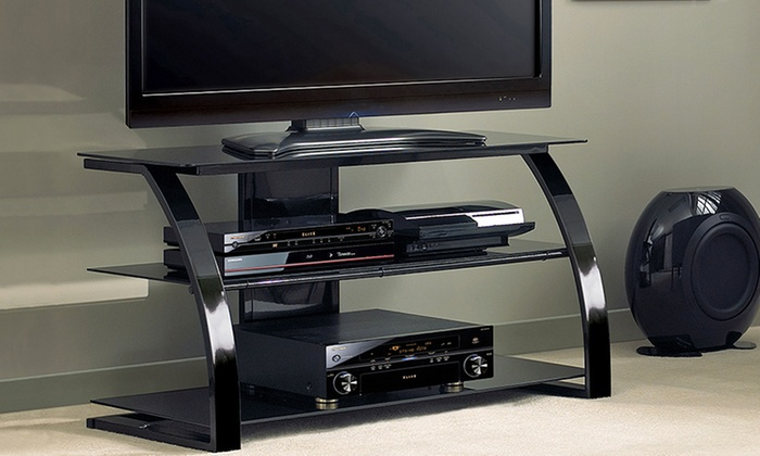 Contemporary Metal Tv Stands With Cable Management