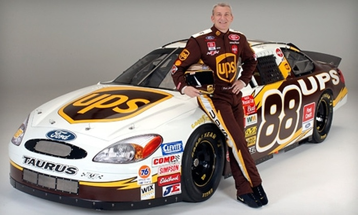 Dale Jarrett Racing Adventure - Joliet: $115 for Ride-Along Racing Experience at Chicagoland Speedway from Dale Jarrett Racing Adventure in Joliet ($195 Value)