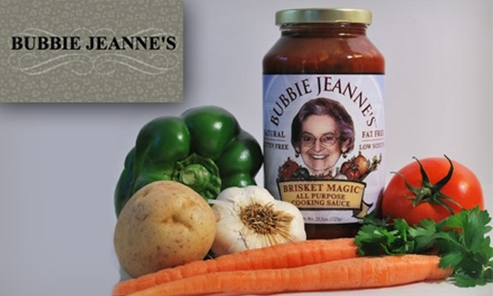 Chevy Chase Supermarket - Chevy Chase: $3 Jar of Bubbie Jeanne's Brisket Magic Sauce ($7.99 Value)