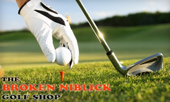 The Broken Niblick Golf Shop - Fort Myers: $25 for $50 Worth of Golf Gear at The Broken Niblick Golf Shop