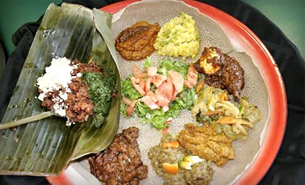 Dinner for 2 (up to a $47 total value) - Taste of Ethiopia in Southfield