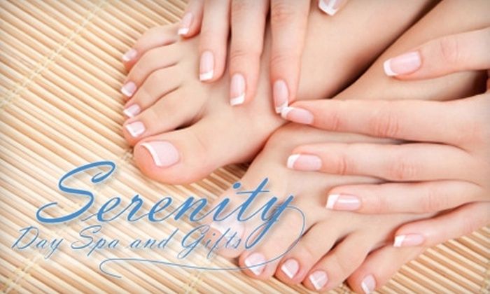 Serenity Day Spa and Gifts - 5: $25 for a Classic Mani-Pedi at Serenity Day Spa and Gifts