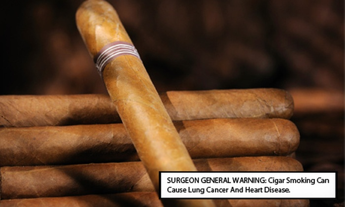 The Cigar Box - Rosewood: $10 for $20 Worth of Cigars and Accessories or a Sampler Gift Box at The Cigar Box