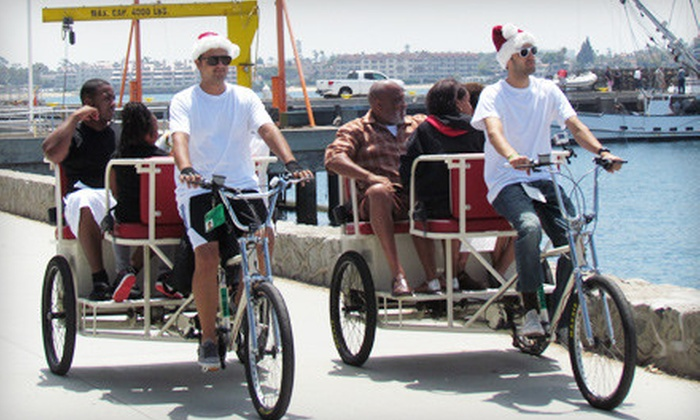 VIP Pedicab - San Diego: Pedicab Tour for Two or Four from VIP Pedicab (Up to 53% Off)