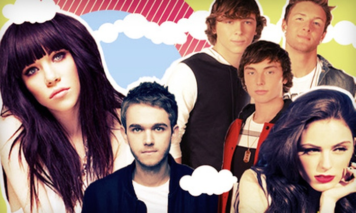 AMP Live 8 - Meadow Brook Music Festival: AMP Live 8 Featuring Carly Rae Jepsen, Cher Lloyd, Emblem3, and Zedd at Meadow Brook Music Festival on June 16